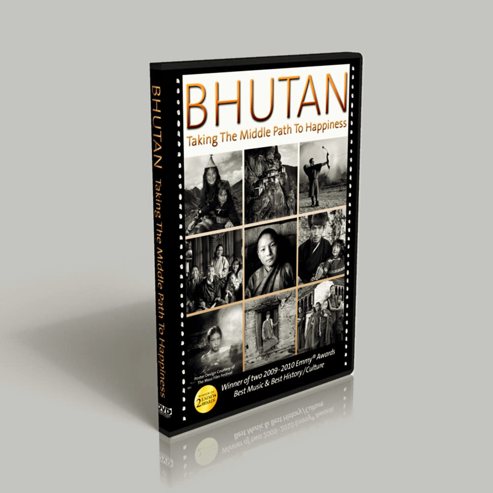 Bhutan: Taking the Middle Path to Happiness DVD