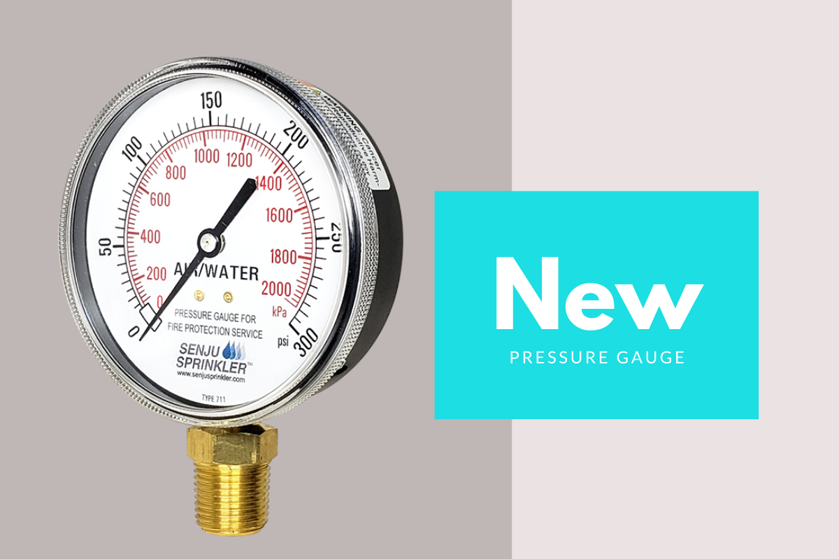 New Pressure Gauges Available Now!