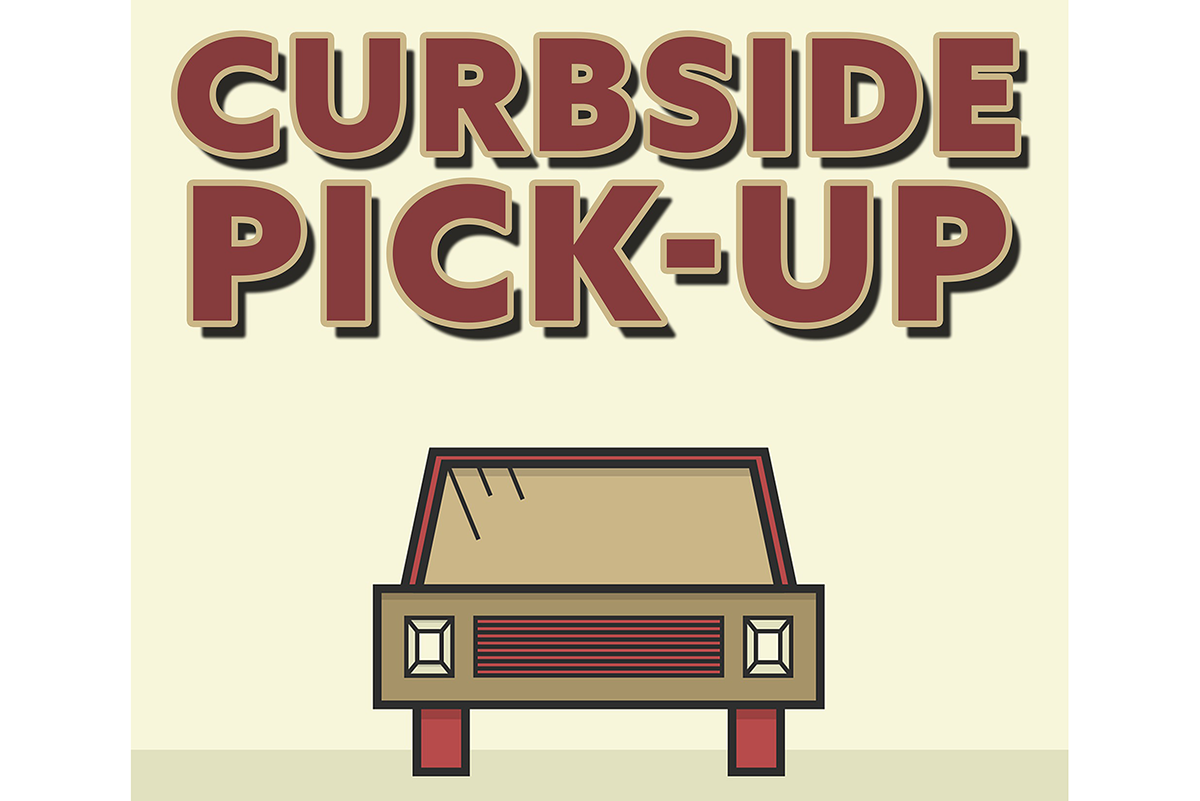 Shop online  + Contactless Curbside Pickup