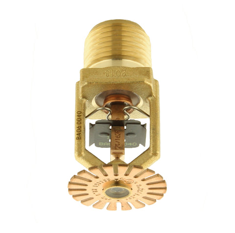 FR-RES Pendent Sprinkler (SS4451) 162°F, 4.9K, Brass - Head Only
