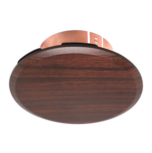 "Cover Plate for RC Sprinklers, 3-1/4"" Round, Cherry Chestnut"