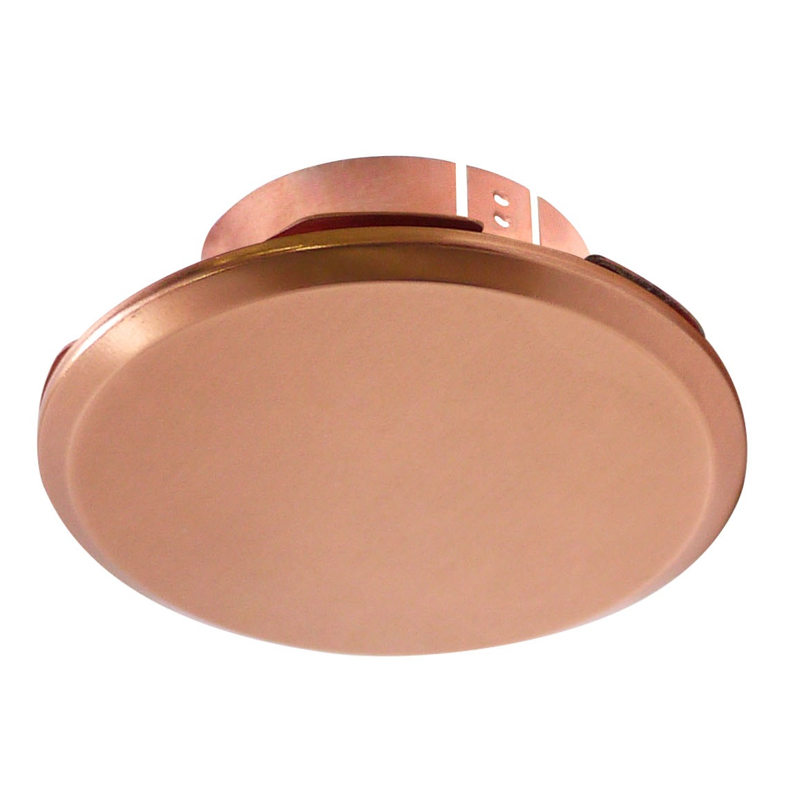 "Cover Plate for RC Sprinklers, Residential/Commercial, 3-1/4"" Round, Copper (Mirror Finish)"