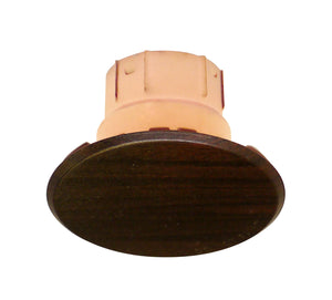 "Cover Plate for CN Sprinklers, Residential/Commercial, 2-3/8"" Dark Walnut"