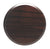 "Cover Plate for RC Sprinklers, 3-1/4"" Round, Dark Walnut"
