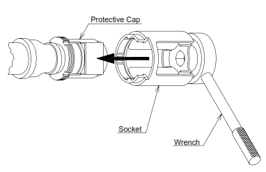 Wrench Socket HF-RES for HF Model Sprinklers