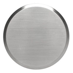 "Cover Plate for RC Sprinklers, Residential/Commercial, 3-1/4"" Round, Nickel (Brushed Finish)"