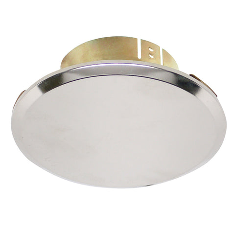 "Cover Plate for RC Sprinklers, Residential/Commercial, 3-1/4"" Round, Nickel (Mirror Finish)"