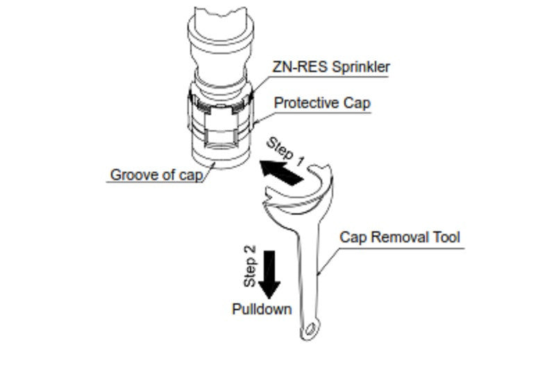 Cap Removal Tool for ZN/CN