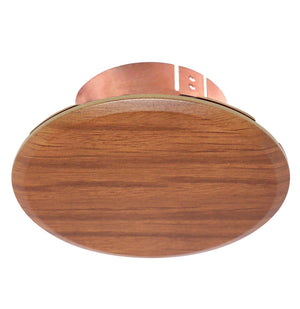 "Cover Plate for RC Sprinklers, 3-1/4"" Round, Golden Oak"
