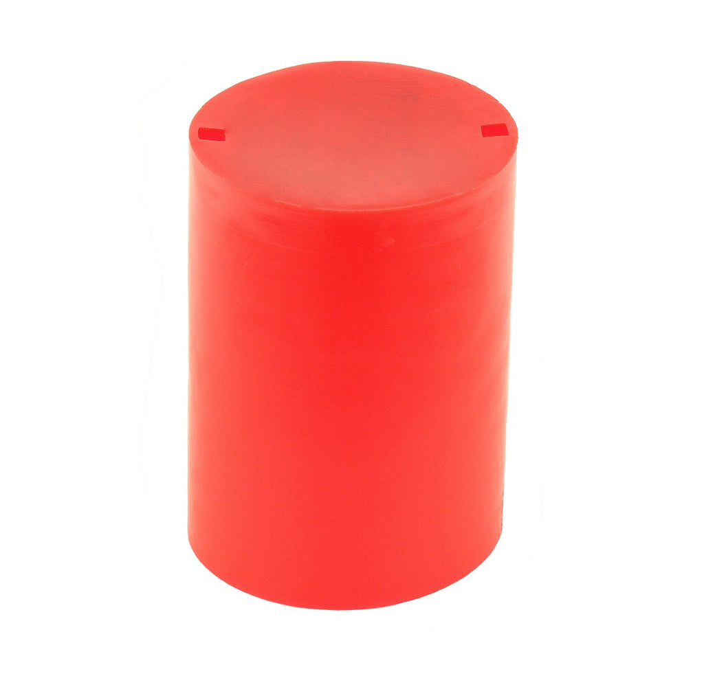 Protective cap for FR, Red LDPE