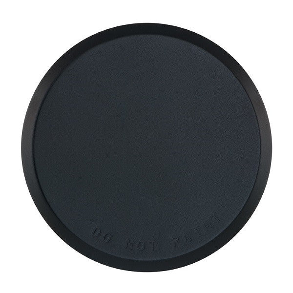 "Cover Plate for RC Sprinklers, Residential/Commercial, 3-1/4"" Round, Black"