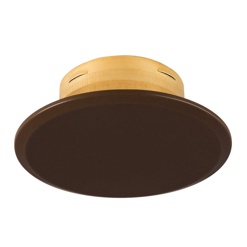 "Cover Plate for RC Sprinklers, Residential/Commercial, 3-1/4"" Round, Brown"