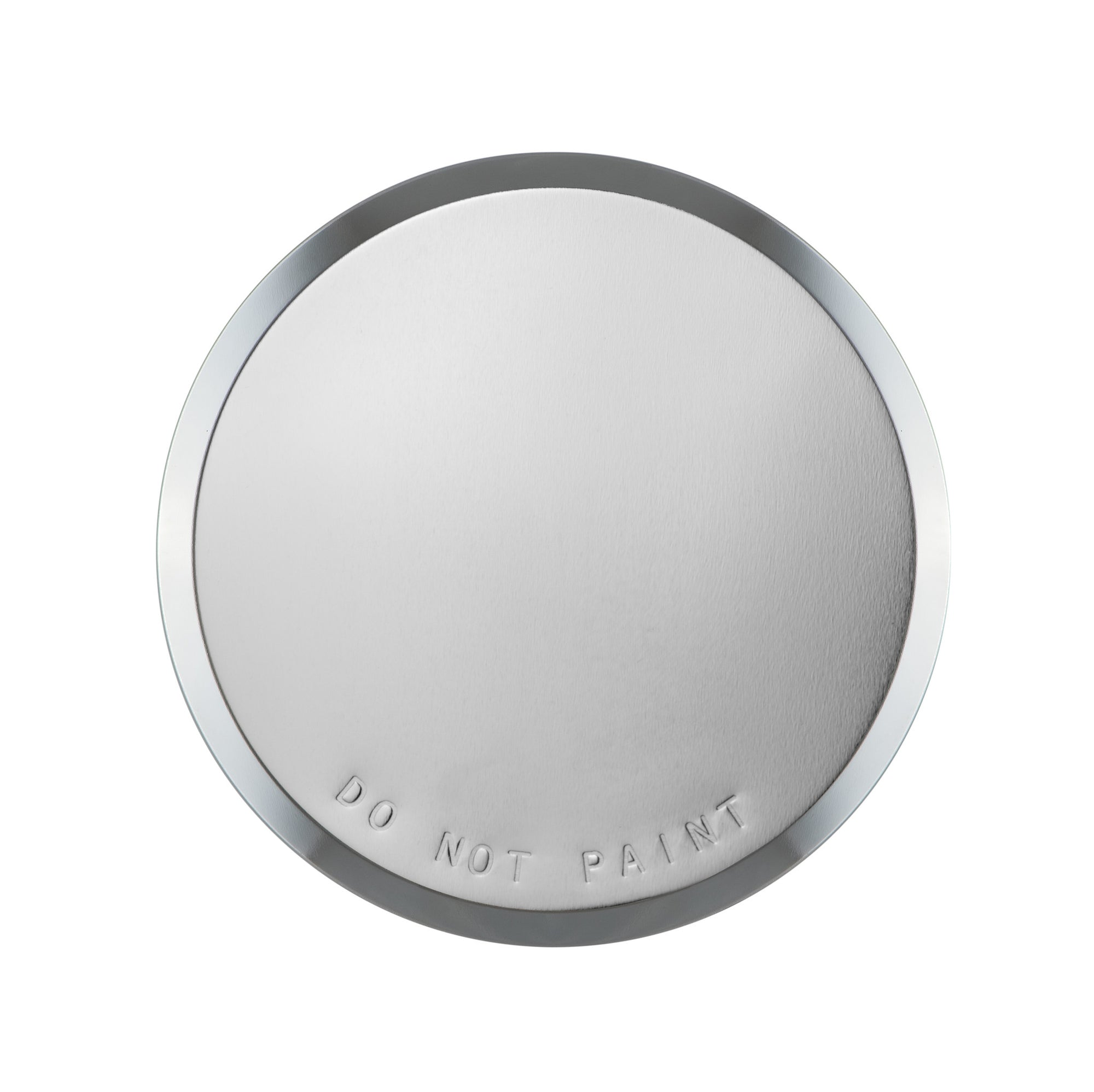 "Cover Plate for CN Sprinklers, Residential/Commercial, 2-3/8"" Nickel (Mirror Finish)"