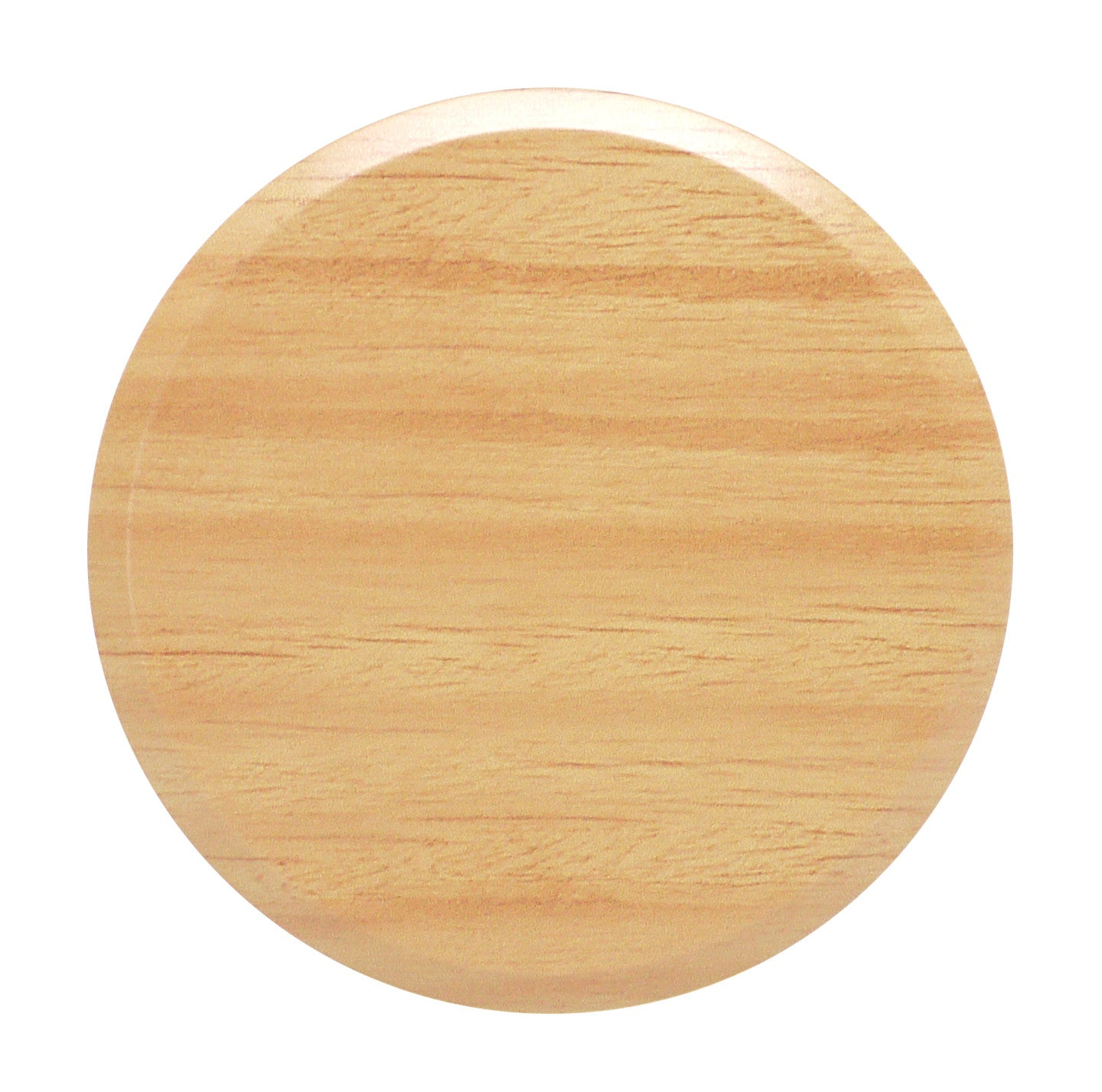 "Cover Plate for RC Sprinklers, 3-1/4"" Round, Yellow Birch"