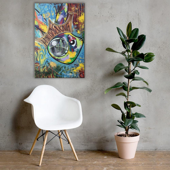 Mind Of A King Canvas Prints - SHOTCA