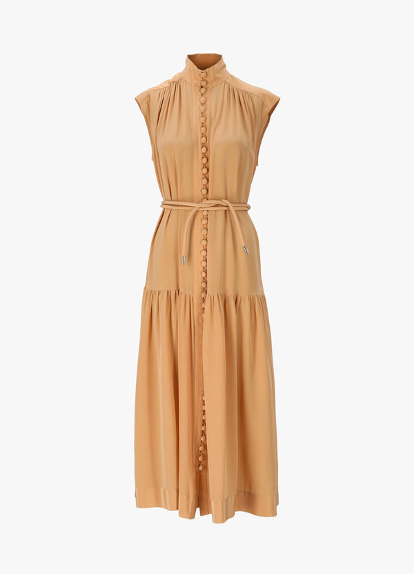 ZIMMERMANN HIGH NECK MINI DRESS