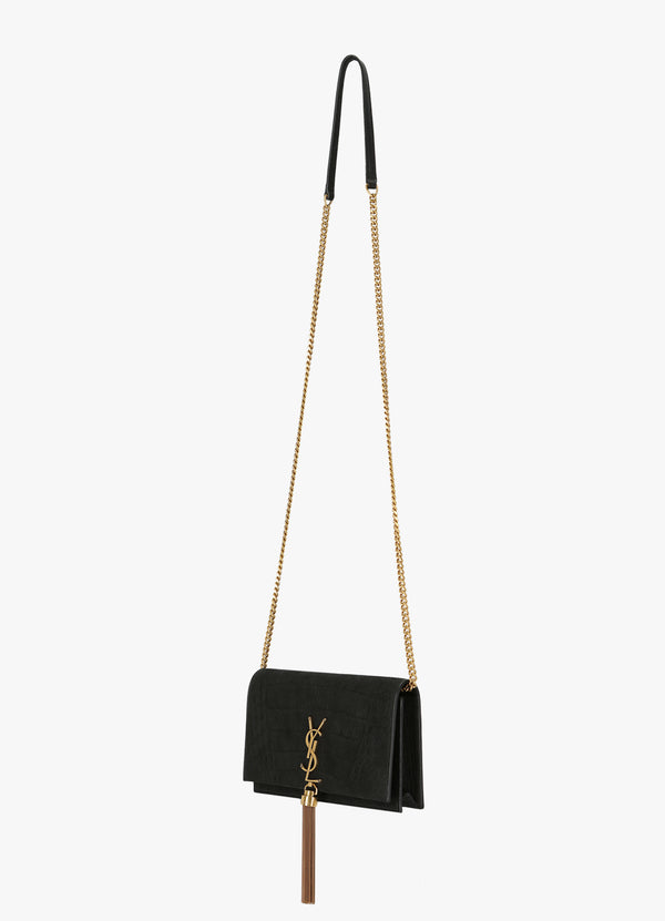 KATE CHAIN WALLET WITH TASSEL