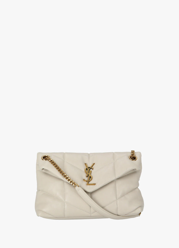 SAINT LAURENT LOULOU PUFFER SMALL BAG Shoulder Bags 300031869
