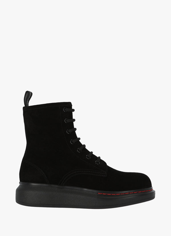 ALEXANDER MCQUEEN LACE BOOTS