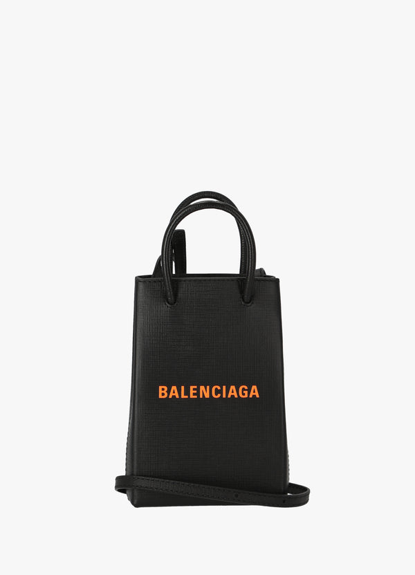 BALENCIAGA SHOPPING PHONE HOLDER 593826 0AI5N