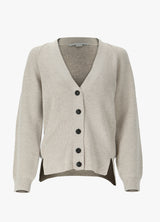 STELLA MCCARTNEY DECONSTRUCTED RIBS CARDIGAN Knitwear 300015268