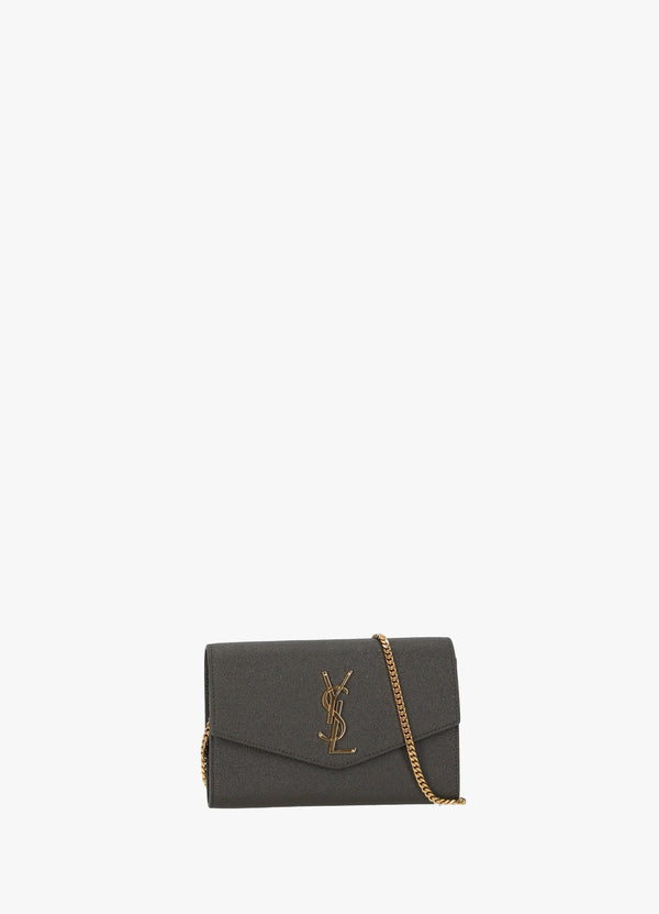 SAINT LAURENT UPTOWN CHAIN WALLET BAG Cross Body Bags 300025922