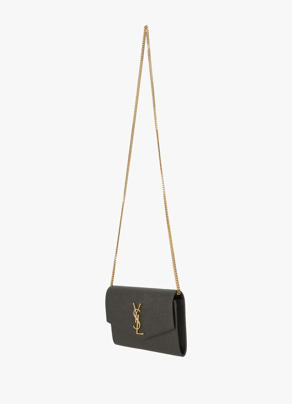 Saint Laurent Uptown Chain Wallet Bag 607788 1GF0J