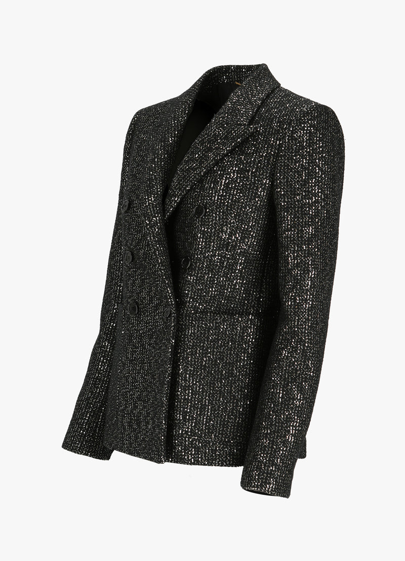 SAINT LAURENT DOUBLE - BREASTED BLAZER