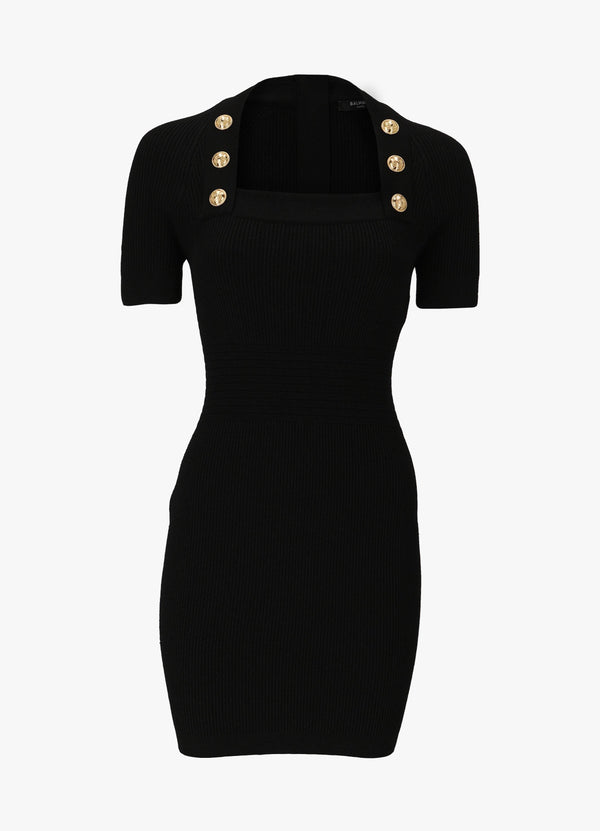 BALMAIN SHORT KNIT DRESS Dresses 300026368