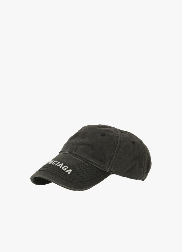 BALENCIAGA WASHED DENIM CAP