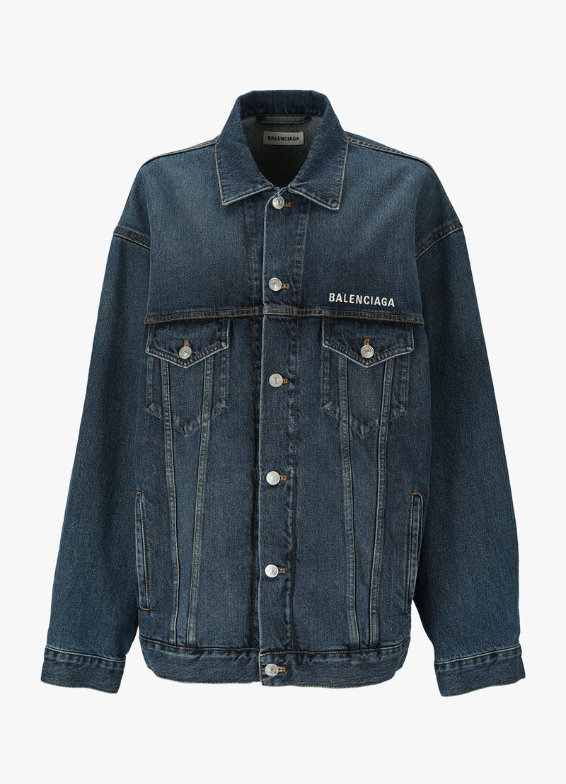 BALENCIAGA LARGE FIT DENIM JACKET Jackets 300013314