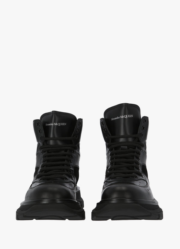 ALEXANDER MCQUEEN LACE-UP BOOT