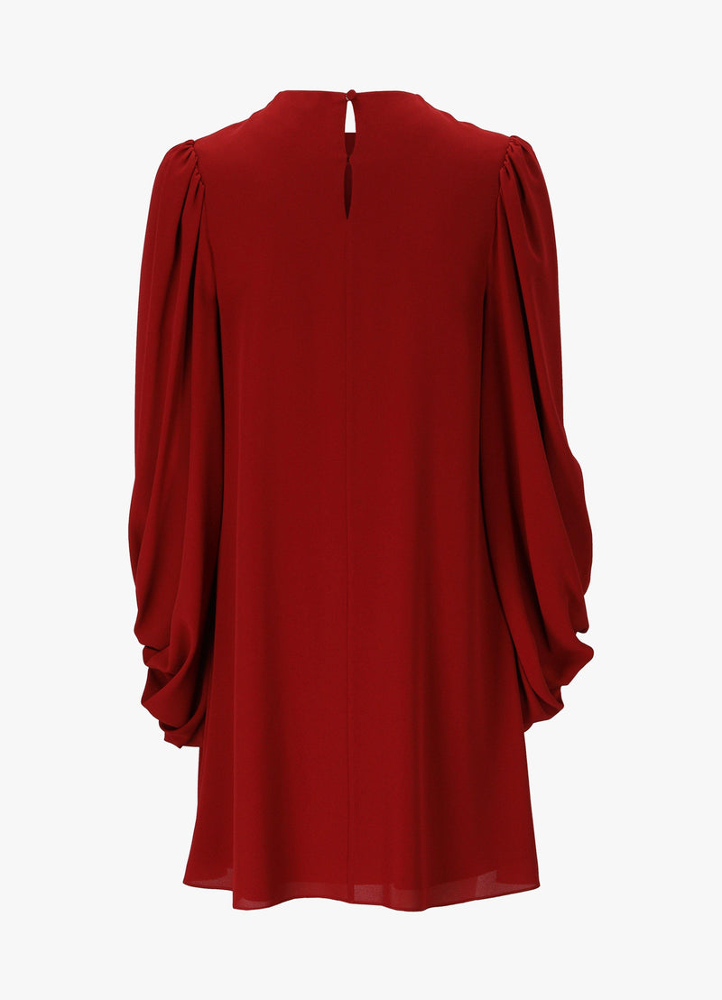 ALEXANDER MCQUEEN HEAVY GEORGETTE DRESS