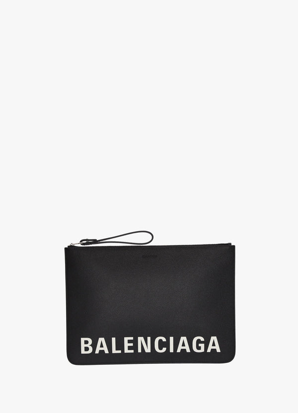 BALENCIAGA POUCH WITH HANDLE Clutch Bags 300030258