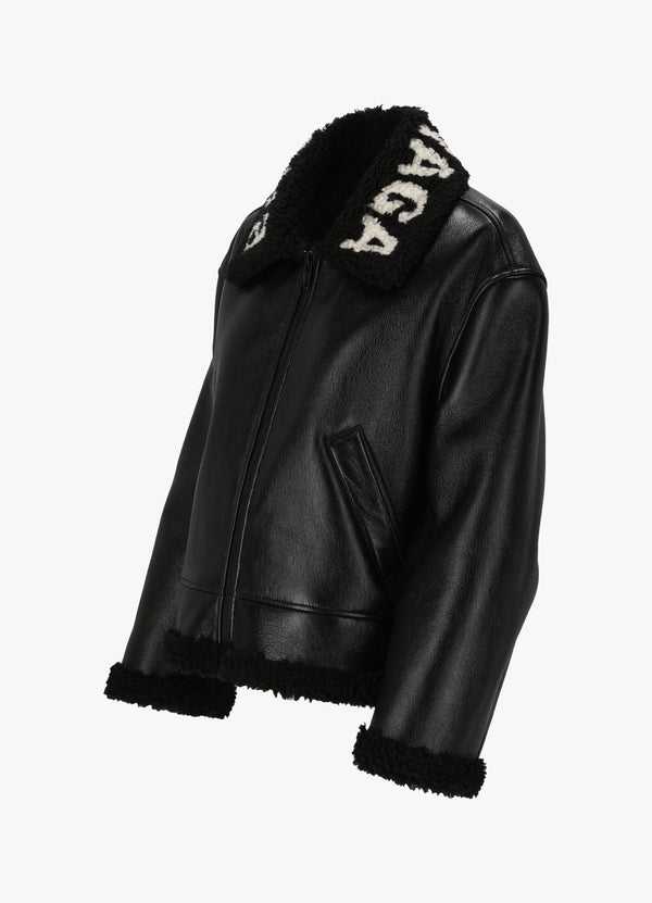 Balenciaga Leather Jacket 646463 TKS31