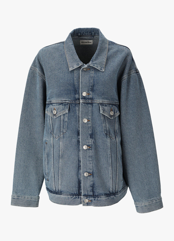 Balenciaga Denim Jacket 646896 TDW15