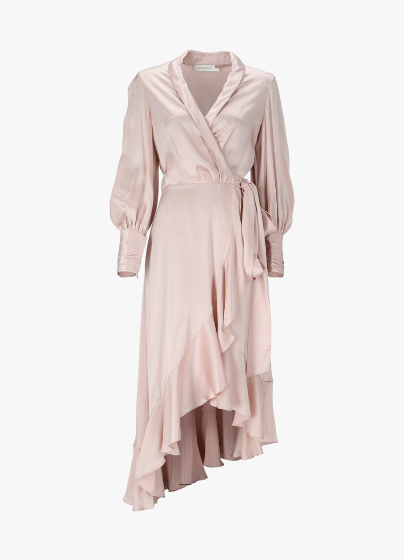 ZIMMERMANN WRAP MIDI DRESS Dresses 300023288