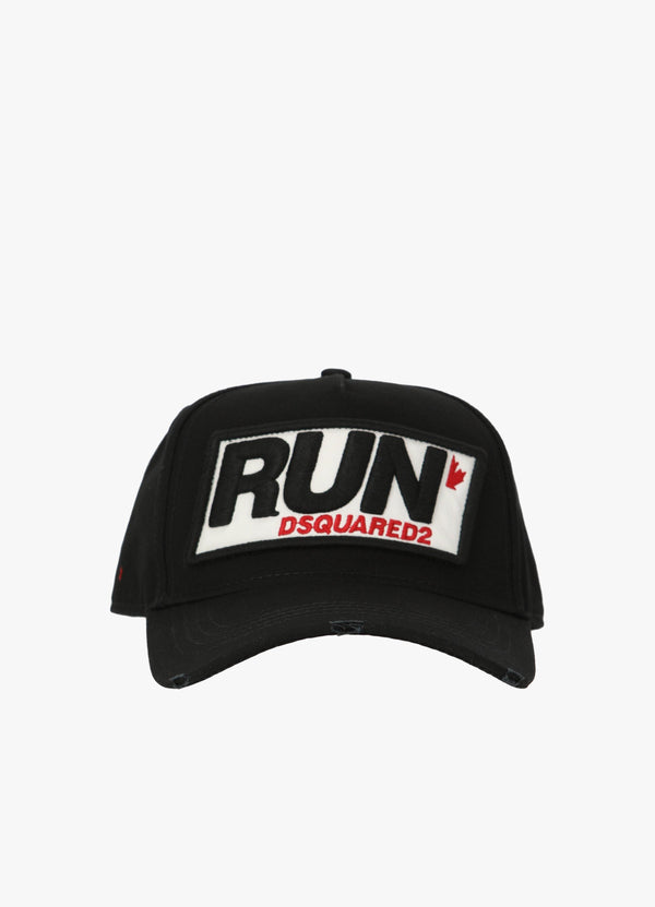 DSQUARED2 RUN PATCH BASEBALL CAP Hats 300036233