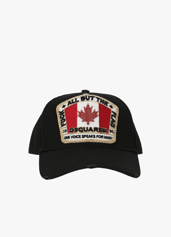 CANADA FLAG PATCH BASEBALL CAP