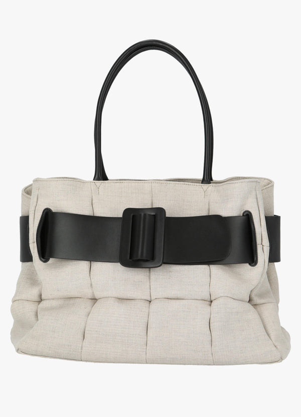 BOYY BOBBY CO MATELASSÉ CANVAS BAG Top Handle Bags 300029758