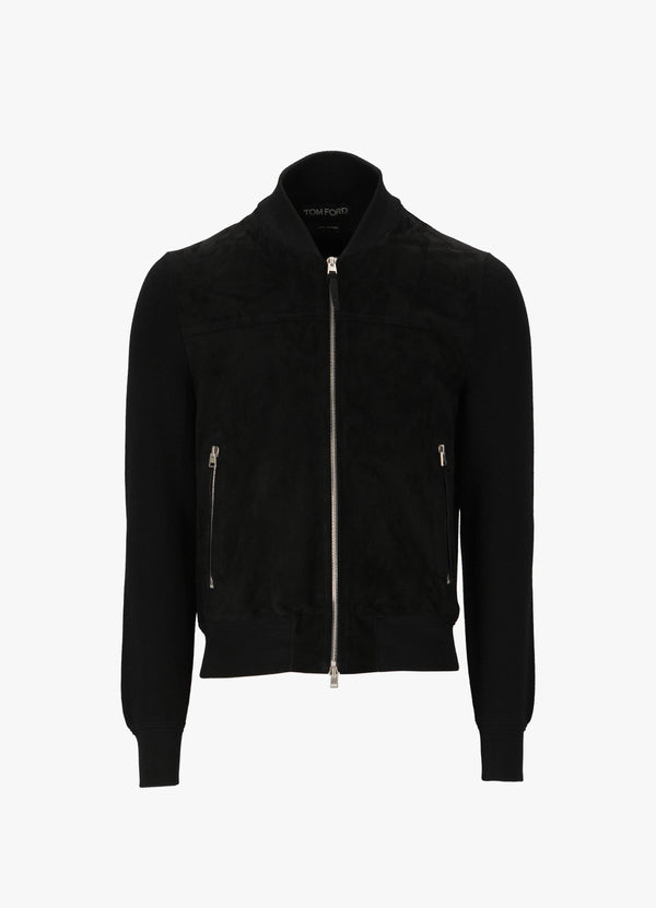 TOM FORD ZIPPED PULLOVER