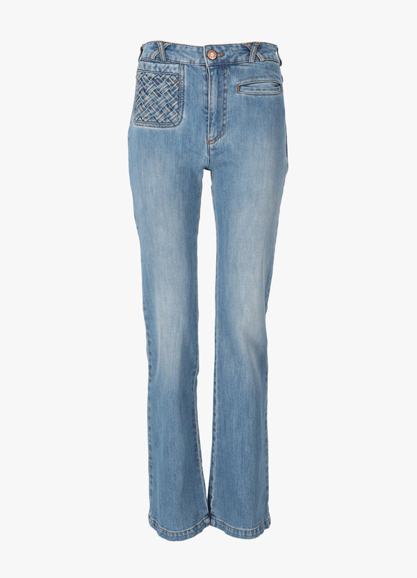 SEE BY CHLOÉ TROUSERS Jeans 300026541