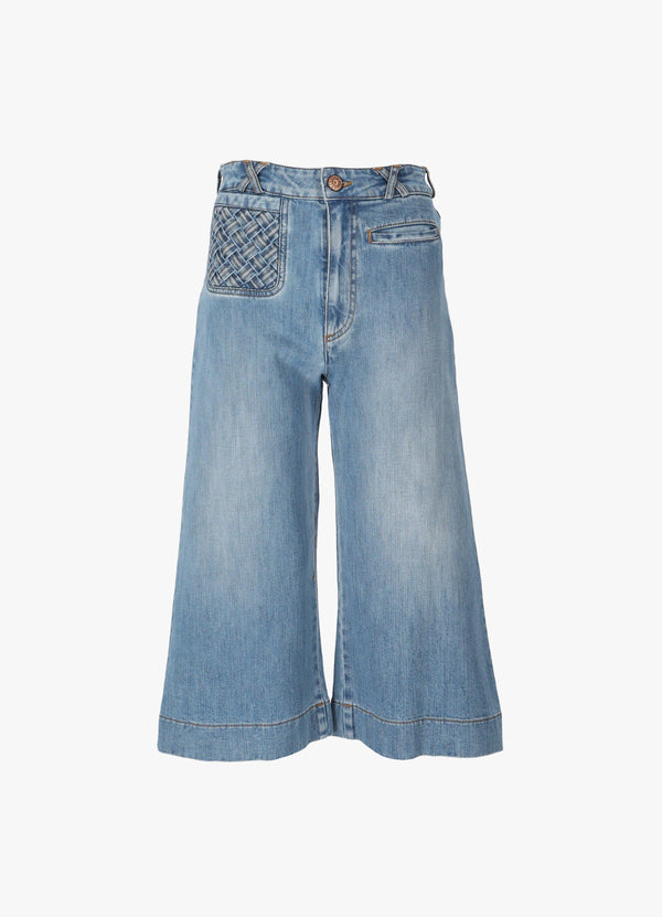 SEE BY CHLOÉ TROUSERS Jeans 300026544
