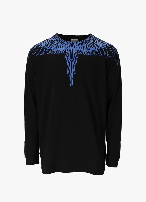 MARCELO BURLON PICTORIAL WINGS T - SHIRT