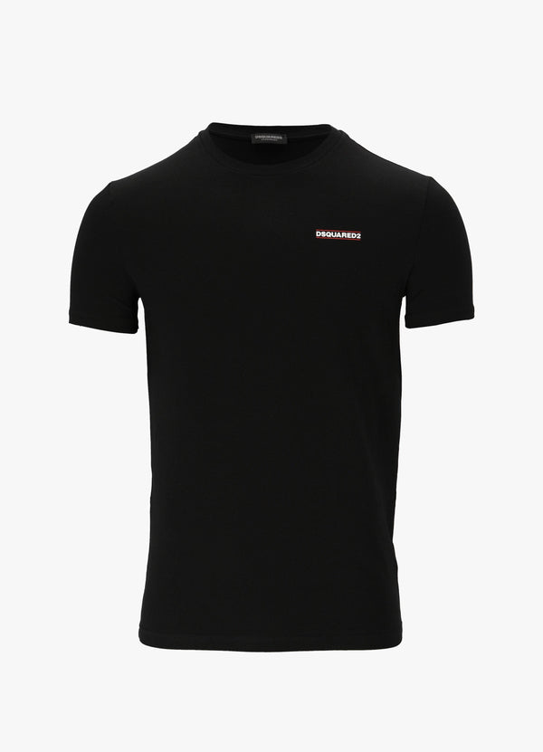 DSQUARED2 LOGO DETAIL T-SHIRT T-Shirts 300024398