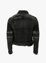 AMIRI BANDANA MX2 TRUCKER JACKET