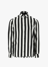 AMIRI STRIPED FLORAL SHIRT Shirts 300012945