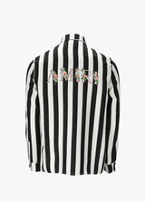 AMIRI STRIPED FLORAL SHIRT