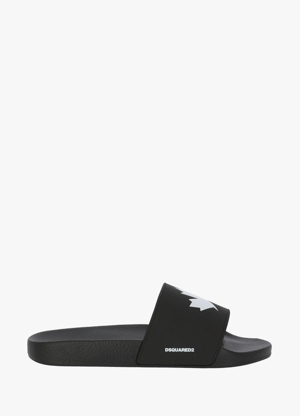 DSQUARED2 LEAF SLIDES Flats 300031659