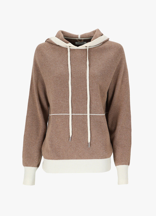 MAX & MOI HOODED JUMPER Knitwear 300027808